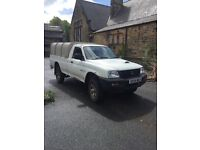 2004 Mitsubishi l200 for work excellent Ifor Williams canopy
