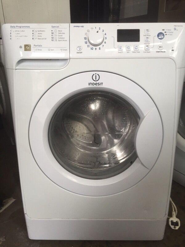 9kg indesit prime washing machine 3 months warranty in wavertree merseyside gumtree. Black Bedroom Furniture Sets. Home Design Ideas