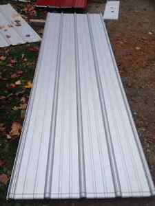 900 Square Feet of Brand New Acrylic Coated Galvalume Steel Roof