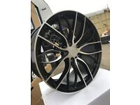 "19"" alloy wheels alloys rims tyre tyres 5x120 staggered BMW 1 2 3 4 5 series bargain"