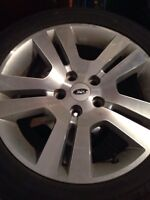 """Ford 17"""" Rims with 225-50-17"""