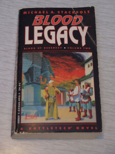 Battletech Blood Legacy original printing Michael A. Stackpole