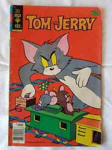 TOM AND JERRY #316 GOLD KEY MARCH 1979 VG+