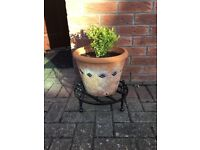 Plant Pot Stand - Wrought Iron