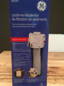 Systeme Filtre Eau Maison GE Whole Home Water Filtration System