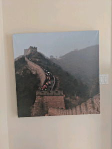 $5 Great Wall of China Canvas