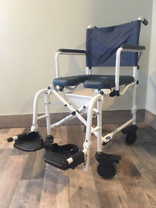 Invacare collapsible commode chair. Model 6891.