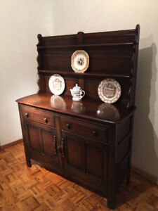 Vintage Hutch Sideboard from England
