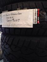 235/75 16 General Altimax winter tires, new