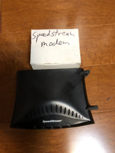 Speedstream modem with power supply