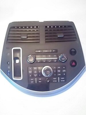 07 08 09 Nissan Quest Stereo Radio Player Climate Control Panel OEM 27500-ZM70A