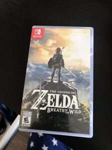 Used Nintendo Switch The Legend of Zelda: Breath of the Wild