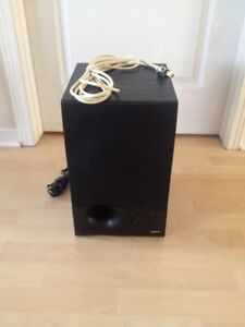 Energy Subwoofer 8.2 100watts + Monster cable