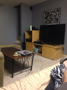 Recently finished totally furnished bachelor pad for rent