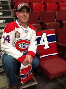 2 MONTREAL CANADIENS TICKETS