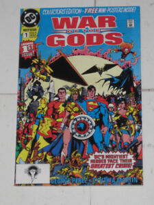 DC Comics War of the Gods#'s 1,2,3 & 4 Justice League comic book
