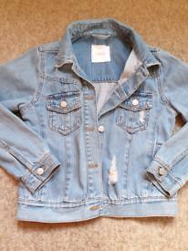 Girls Age 8 Next Denim Jacket