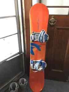 Brand New Board, Boots, Bindings