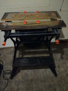 B&D Workmate 400-Trade for small amp(not junk)