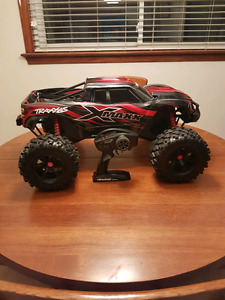 Traxxas X-Maxx 6s with lipos/lipo charger/upgrades