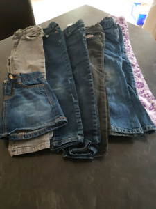 Girls jeans size 5T