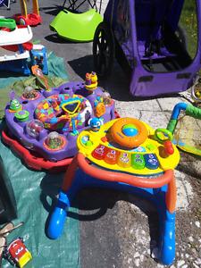 Jumper bébé et jouet pour marché