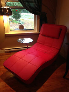 Structube buy sell items tickets or tech in gatineau - Chaise longue en cuir ...