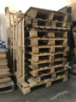 Shipping Pallets for FREE (Great for Building or Firewood)