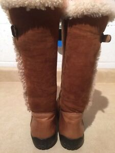 Women's Ralph Lauren Leather Winter Boots Size 6.5 London Ontario image 4