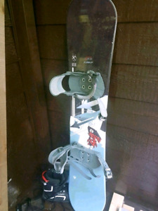Snowbord boots and bindings for sale