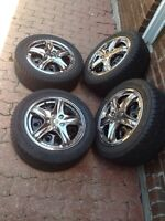 Honda Fit Toyota 195/55R15 Goodyear Eagle GT Tires With Rims