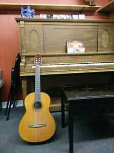 Music Lessons --Guitar and Piano($30/hour)