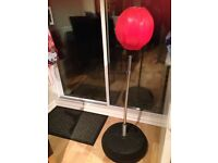 PUNCH BALL STAND, BRAND NEW NEVER USED, SMOKE/PET FREE HOME