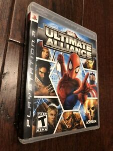 Marvel Ultimate Alliance PS3 PlayStation 3 Game