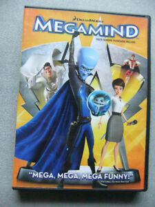 Children DVD's:  Megamind, Garfield A Tail of Two Kitties + Free