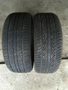 2 PNEUS  / 2 ALL SEASON TIRES  225/65/16 SAILUN ATREZZO
