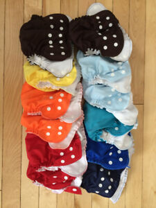 apple cheeks size 1 cloth diaper covers