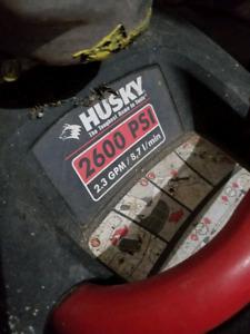 Husky 2600 gas pressure washer $400 obo