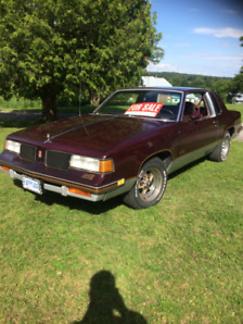 1987 Oldsmobile cutlass 447