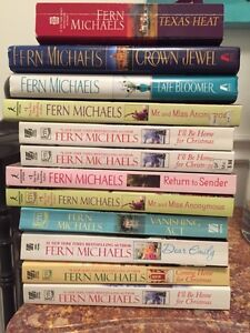 Fern Michaels 12 books ..take all for $12.00