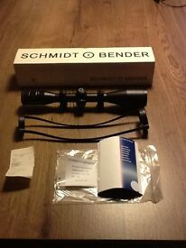 Schmidt & Bender 6x42 Klassik rifle scope