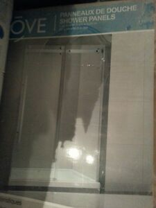 New High End Glass  Sliding Shower Door