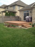 DECKS/FENCES/RAILINGS/REPAIRS/POST HOLES&SETTING(4x4&6x6)