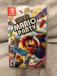 Super Mario Party (Switch) BNIB NA Sealed