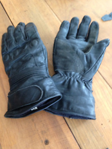 3 pair motorcycle riding gloves/gauntlets