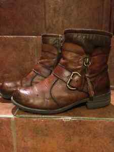 Women's fall/winter LEATHER boots