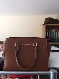Two mk handbags used once