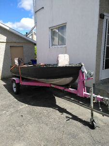 REDUCED- MUST SELL MOVING-BOAT/MOTOR/TRAILER - FIRM PRICE.