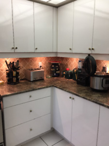 Kitchens Items, Stove, Cabinets, Table & Chairs, Dishwasher