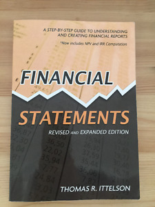 Textbook Financial Statements Rev Ed by Thomas R. Ittelson